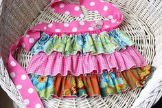 Sewing Pattern Tutorial for Ruffle Aprons Mommy von whimsycouture