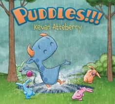 While out for a walk with his friends, a monster becomes excited at the chance to jump in some puddles when it begins to rain.