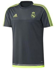 Camiseta De Entrenamiento Del Real Madrid Gris