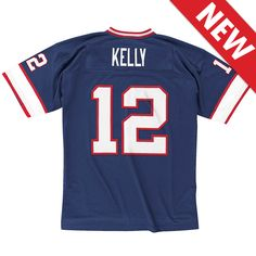 Get your Jim Kelly throwback jersey at the Bills store!