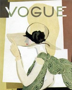 ⍌ Vintage Vogue ⍌ art and illustration for vogue magazine covers - 1938