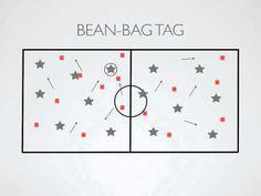 Physical Education Games - Bean-Bag Tag