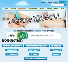Literacy WAGOLL is a growing site that shares good examples of different text types --> http://teachr.co/1OXBmH0