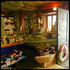 The most beautiful bookshop in the world (Venezia) via Sdrig Feinmann