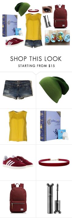 """""""Gus Gus Look"""" by krazy-kitten ❤ liked on Polyvore featuring Hollister Co., Stills, adidas, Humble Chic and Herschel Supply Co."""