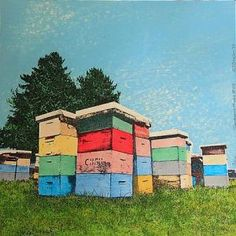 A print  http://www.sarjeant.org.nz/site/media/bakery/images/item213/Beehives.jpg