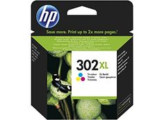 awesome HP 302XL High Yield Tri-color Original Ink Cartridge - Cartucho de tinta para impresoras (Cian, Magenta, Amarillo, Alto, 8 ml, 20 - 80%, -40 - 60 °C, 15 - 32 °C)