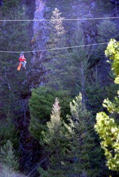 Ziplining - Want to do!