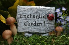 Fairy Garden Sign Custom Fairy House Sign For Your by PhenomeGNOME, 15.99