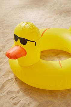 Shop Rubber Duckie Inner Tube Pool Float at Urban Outfitters today. We carry all the latest styles, colors and brands for you to choose from right here. Outdoor Beach Decor, Outdoor Fun, Summer Pool, Summer Fun, Summer Ideas, Summer Things, Summer Nights, Urban Outfitters Apartment, Pool Party Games