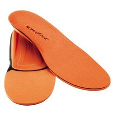 orange running insoles: color and comfort all wrapped into one