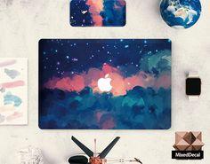 Apple macbook decal sticker keyboard decal macbook by MixedDecal