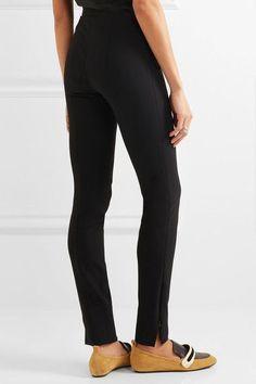 The Row - Snaco Stretch-cady Skinny Pants - Black - US10
