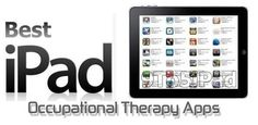 Occupational Therapy Apps ... Going to check these out someday.