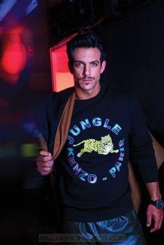 Joaquín Ferreria, protagonista de la serie Club de Cuervos, es ahora el hombre en portada para la edición Diciembre/Enero 2017 de Maxim México