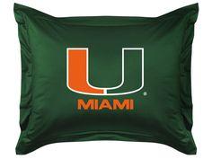 ATHLEZ - Miami Hurricanes Locker Room Sham