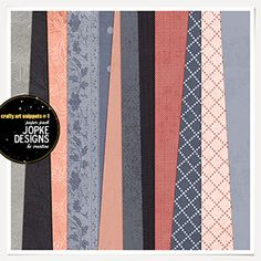 Crafty Art Snippets # 1 Paper Pack