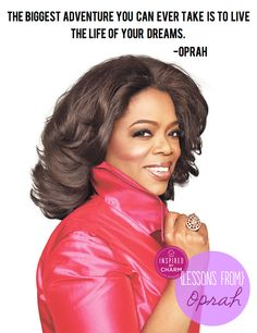 inspired by charm: Lessons From: Oprah