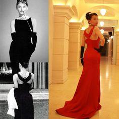 b335ea2ed1ae Breakfast at Tiffany's dress // Audrey Hepburn dress // Bridesmaid dress // 50s  dress // 1950 dress
