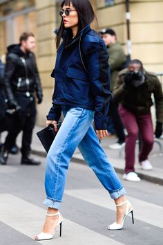 Bonjour Couture! The Best Street Style from Paris  - HarpersBAZAAR.com