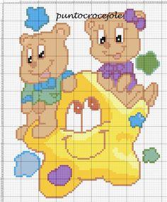 Baby Afghans, Baby Cartoon, C2c, Le Point, Hama Beads, Cross Stitch Patterns, Teddy Bear, Pets, Crochet
