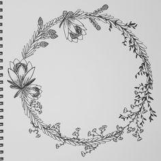 so chuffed with this wreath i designed myself