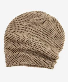 The Crosshatch Beanie is back again <3 its the perfect slouchy beanie, that actually stays in place!