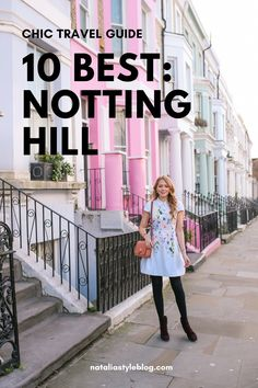 Looking for tips on things to do in Notting Hill? We've got you covered with the best bakeries, colourful photo spots and restaurants in this adorable and colourful borough in London. Europe Travel Guide, Travel Guides, Travel Advice, Travel Destinations, Scotland Travel, Ireland Travel, Notting Hill London, London Photography, Travel Photography