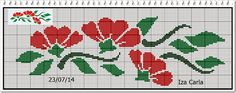 MEU AMOR POR PONTO CRUZ: GRAFICOS DA AMIGA IZA CARLA E SHOW DE KITS 2 DO AGENDA DOS BLOGS. Cross Stitch Letters, Cross Stitch Bookmarks, Beaded Cross Stitch, Cross Stitch Borders, Cross Stitching, Intarsia Knitting, Beading Projects, Bargello, Tapestry