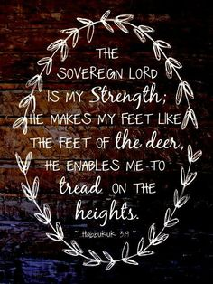 The Lord is my Strength ❣❣❣