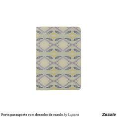 Shop Porta passaporte com desenho de casulo passport holder created by Lupaca. Passport Holders, Passport Wallet, Hand Sewing, Personal Style, Prints, Sewing By Hand, Hand Stitching