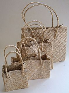 Lauhala Tote Bags