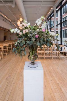 #FabFloraChicago #Jennography #WeddingFlowers #GreenhouseLoft #SpringWedding #CeremonyDecor #Ceremony #Ranunculus #BottlesofBlooms #BlushBlooms #ChicagoWedding