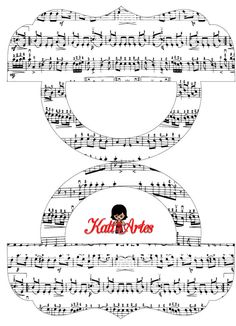 Music: Free Printable Candy Bag Label.