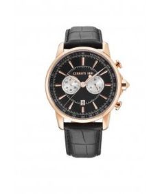 CERRUTI  1881 CRA073C222H Cerruti Watches, Gents Watches, Breitling, Chronograph, Quartz, Band, Leather, Accessories, Beautiful