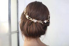 Wedding headpieces Wedding tiara Bridal headpiece by Ayajewellery