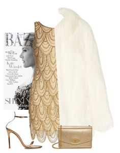 """listen to your heart"" by arzuyalhi on Polyvore featuring Pisarro Nights, Gianvito Rossi, House of Fluff and Mulberry"