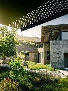 A Butterfly Inspired House In The Hills Near Carmel, California