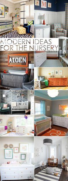 Modern Nursery Ideas - 10 Fab Nurseries That We Just Love! | Project Nursery