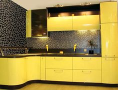 Design A Yellow Kitchen like a pro with these tips !