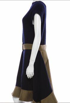 Sacai Wool Dress.  Great price on therealreal.com