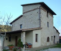 MARMORE Located in a small village named Marmore near the Marmore's Falls and the town of Terni (Umbria).  Stone Tower house built the year 1500.  Restructured the 2010 other building land for 100 sq.m., with 2.200 sq.m. of land and 2.800 sq.m. of woods.