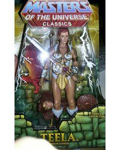 #Masters #Of #The #Universe #Classics #Teela #Mattel #actionfigures #action #figures #figuras #ação #toys #quadrinhos #comics #HeMan #Heroes #heróis #heroínas #heroines