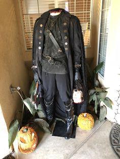 Headless Horseman, Halloween Decorations, Leather Pants, Fashion, Leather Jogger Pants, Moda, Fashion Styles, Lederhosen, Leather Leggings