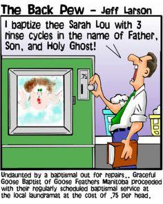 Laundry baptism
