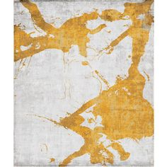 Eastern Side of Nanjing Hand Knotted Rug in Orange design by Second... (€2.130) ❤ liked on Polyvore featuring home, rugs, orange circle rug, orange area rug, hand knotted rugs, circle rug and hand knotted area rugs