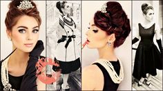 Breakfast At Tiffany's Makeup, Hair & Style Tutorial   Jackie Wyers