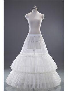 Pretty Multilayers gauze 2 steel wire Wedding Petticoat