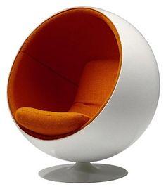 Eero Aarnio Ball Chair, Kugelsessel (1966)