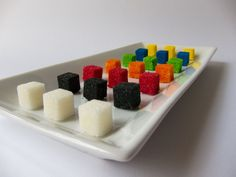 You Pick 100 Sugar Cubes Gift Set  Rainbow by FusionSweets on Etsy, $9.94
